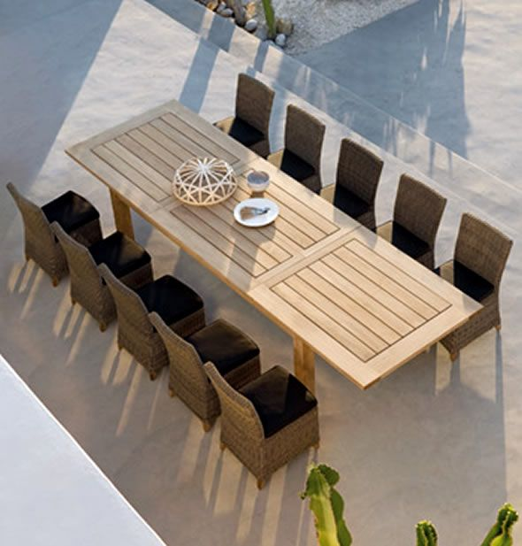 Contemporary Patio Furniture Outdoor Dining Furniture Garden