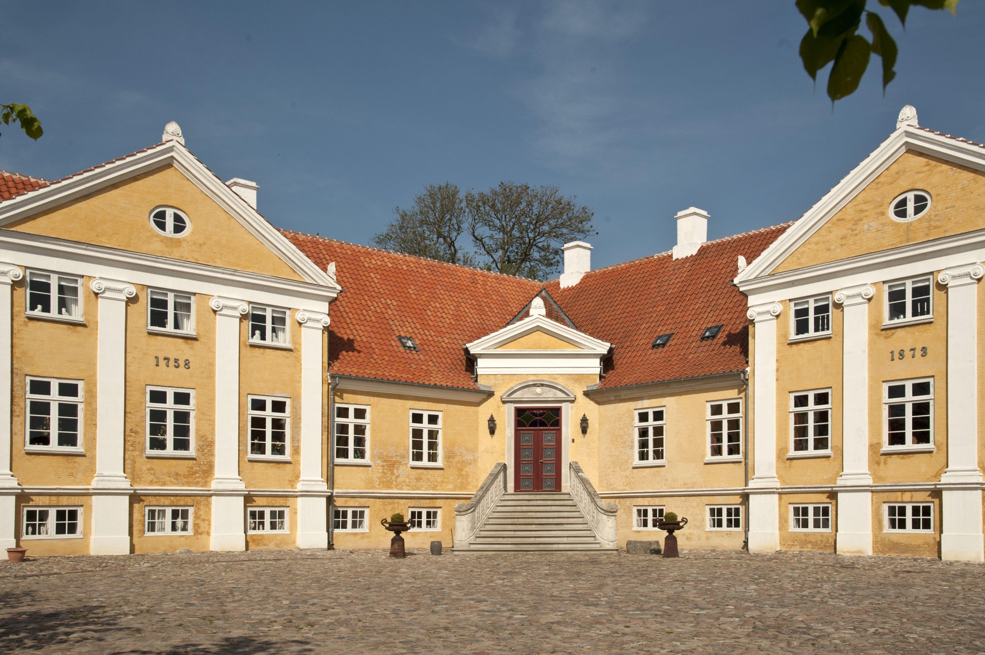 Brolykke Pa Langeland Slotte Bygninger Danmark
