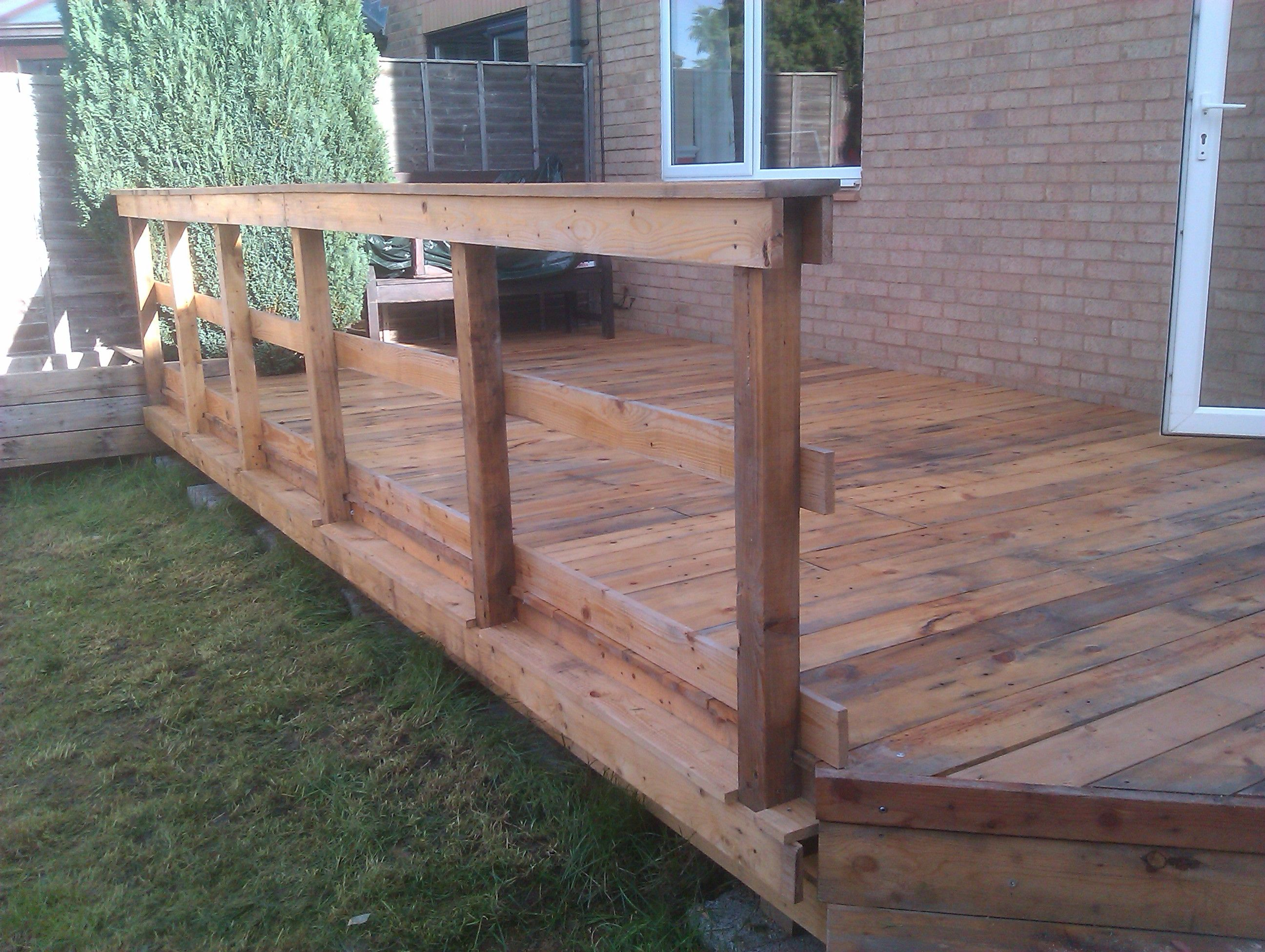 Pallet Deck And Rail Nicks Designed Built By Mark Harrison Links To