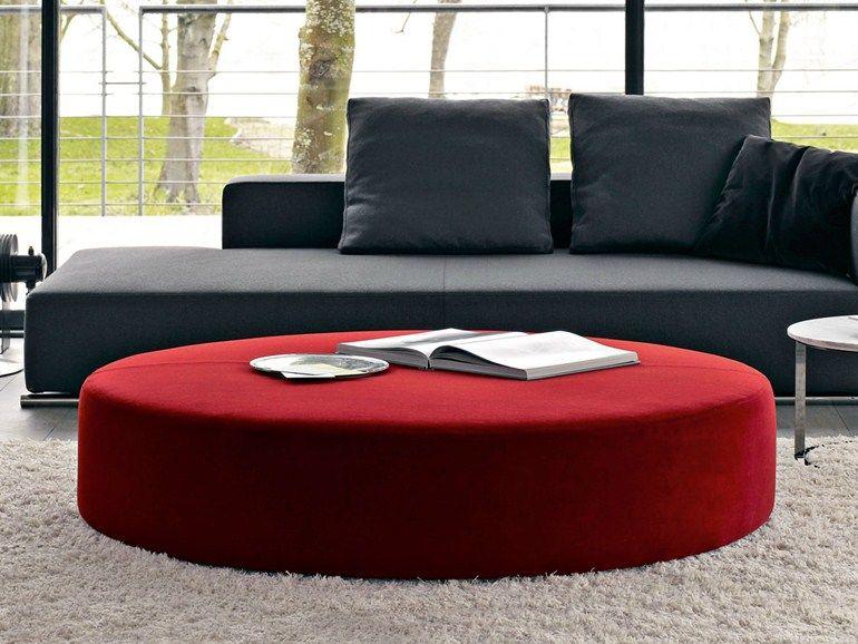Pouf in tessuto diseño moderno sala de estar comedor baño