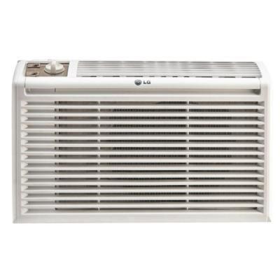Lg Electronics 5 000 Btu 115 Volt Window Air Conditioner In White In 2020 Window Air Conditioner Air Conditioner Btu Room Air Conditioner