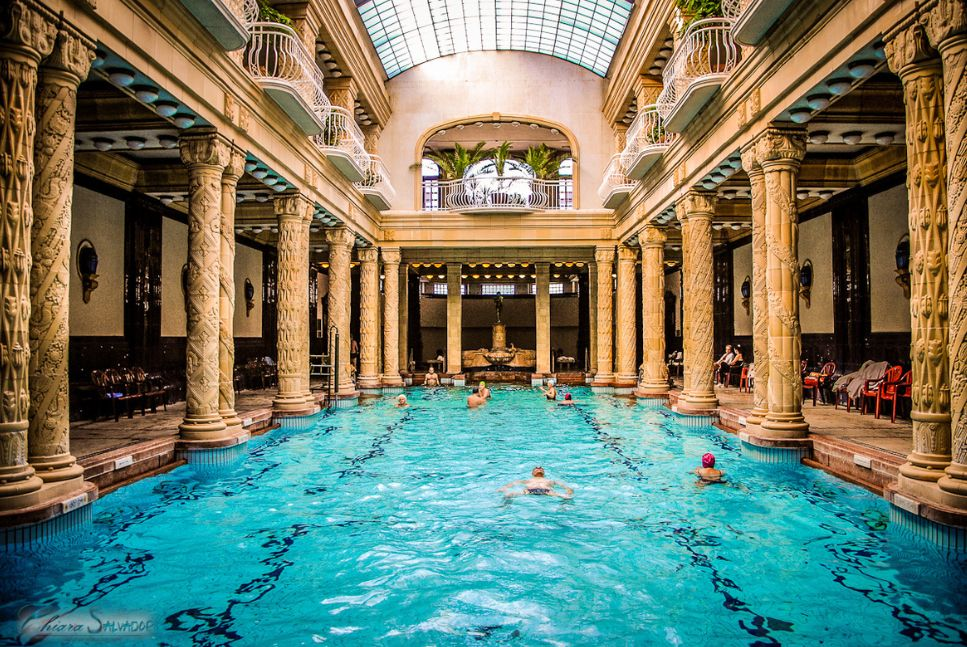 Banos Gellert.Gellert Baths Iconic Spa Complex In Budapest Hungary