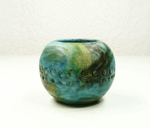 Alvino Bagni for Raymor Sea Garden Series Vase | eBay | Bitossi and ...