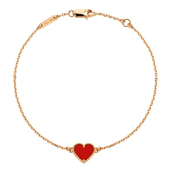 396a150902048 Van Cleef & Arpels Sweet Alhambra Heart Bracelet | Styles I Love ...