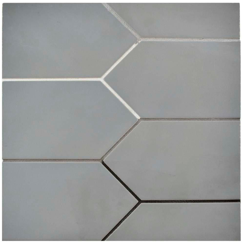 porcelain subway floor and wall tile
