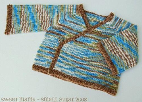 seamless infant kimono