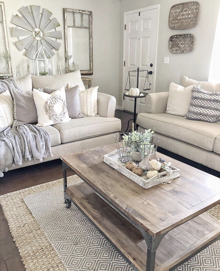Farmhouse Living Room Furniture Set: This Mor Furniture Couches And Loveseat Pair Perfectly