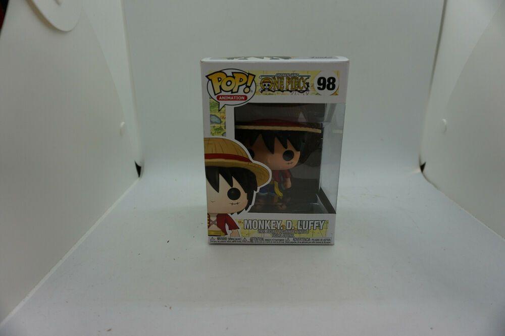 Luffy Vinyl Figure One Piece Monkey D Funko Pop Animation
