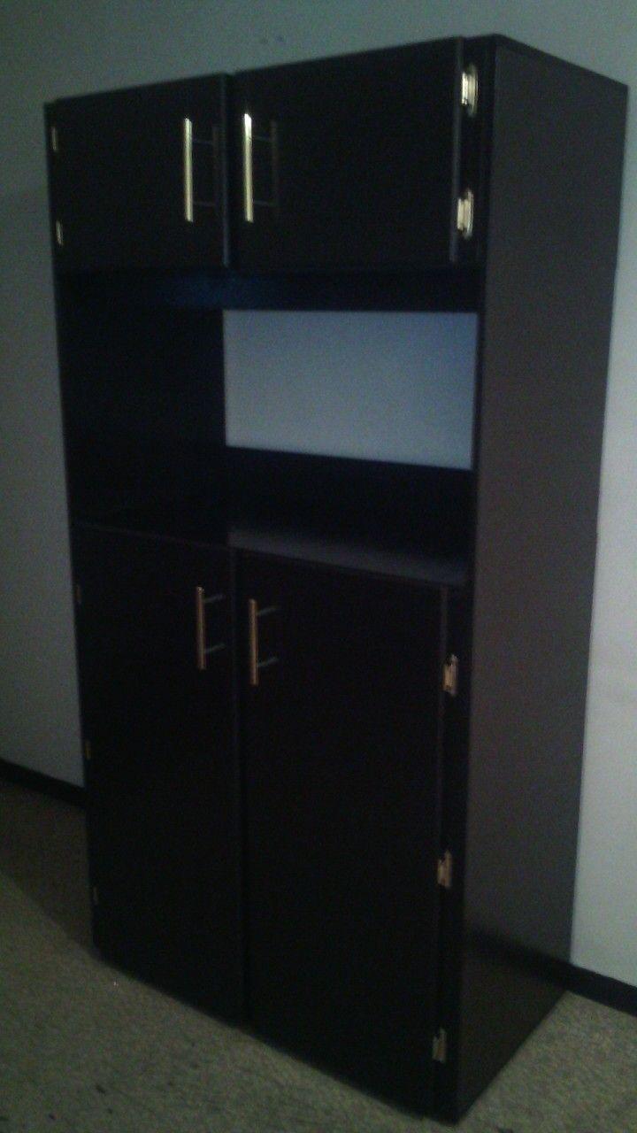 Alacena para despensa y horno de micro ondas | Muebles de cocina ...