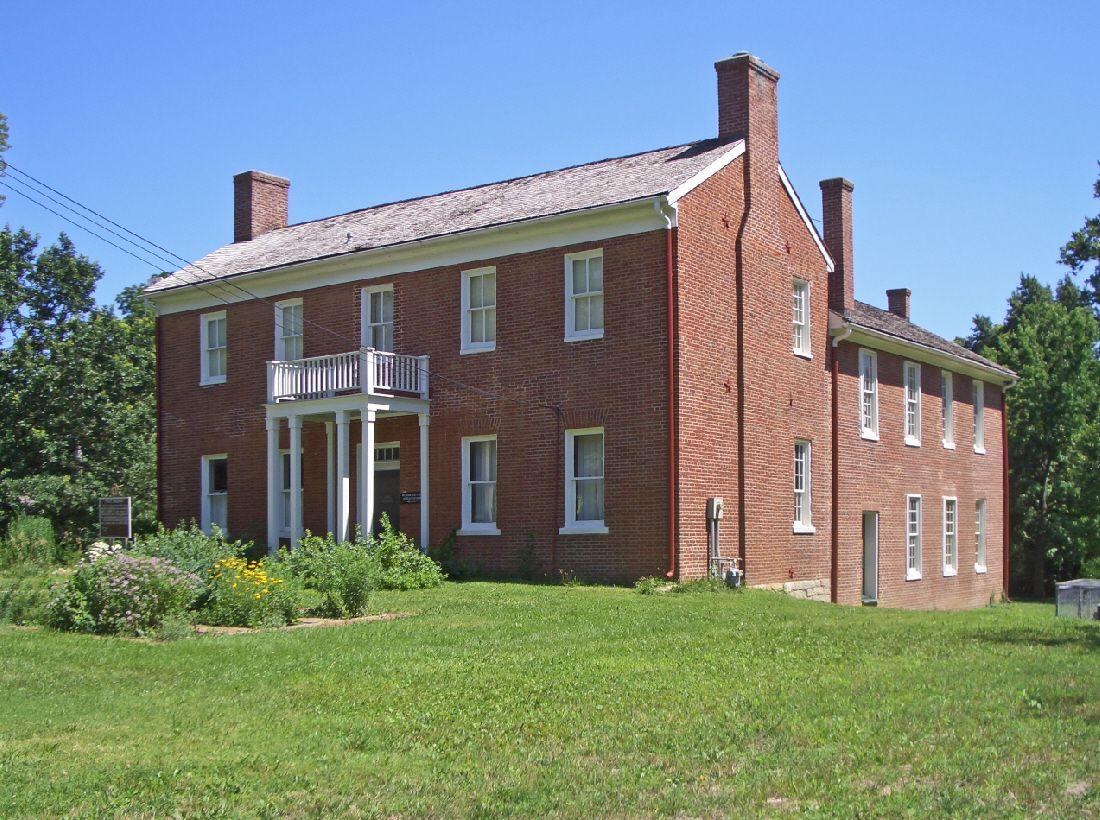 Shawnee Methodist Mission in Johnson County, Kansas