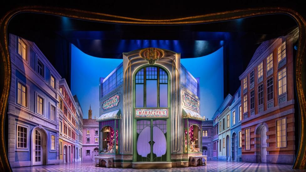 Show She Loves Me 2016 Broadway Scenic Designer David Rockwell Stage Set Design Scenic Design Set Design Theatre