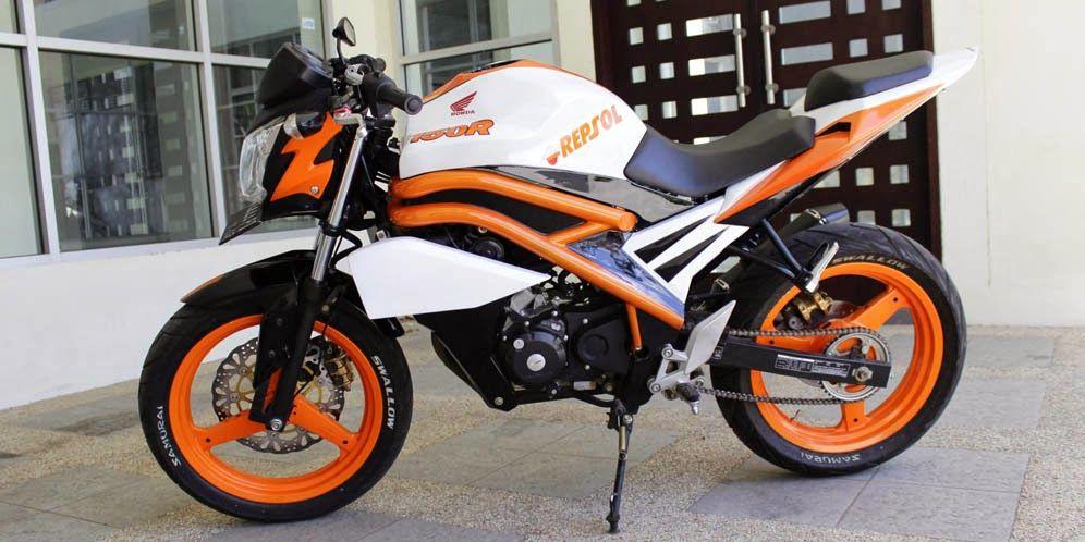 modifikasi motor honda cb150r terbaru terbaru