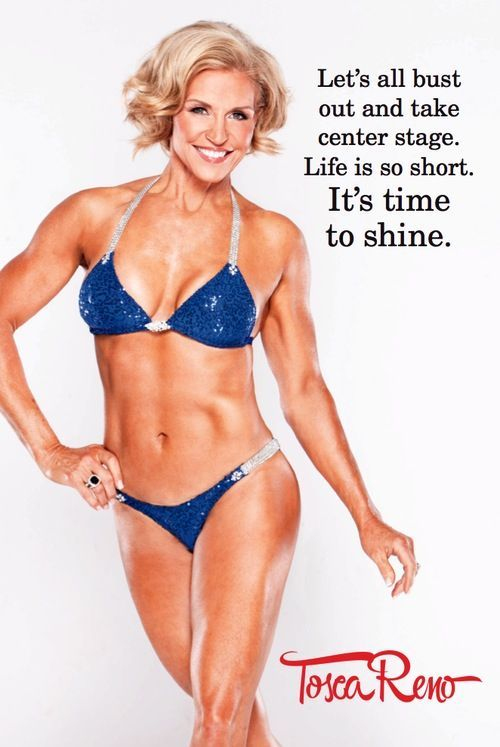 Fifty+, Fit, and Fabulous!!! Tosca Reno, age 55 (always ...