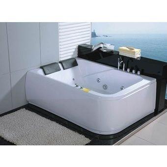baignoire 2 places balneo. (340×340) | Bathtubs,pools