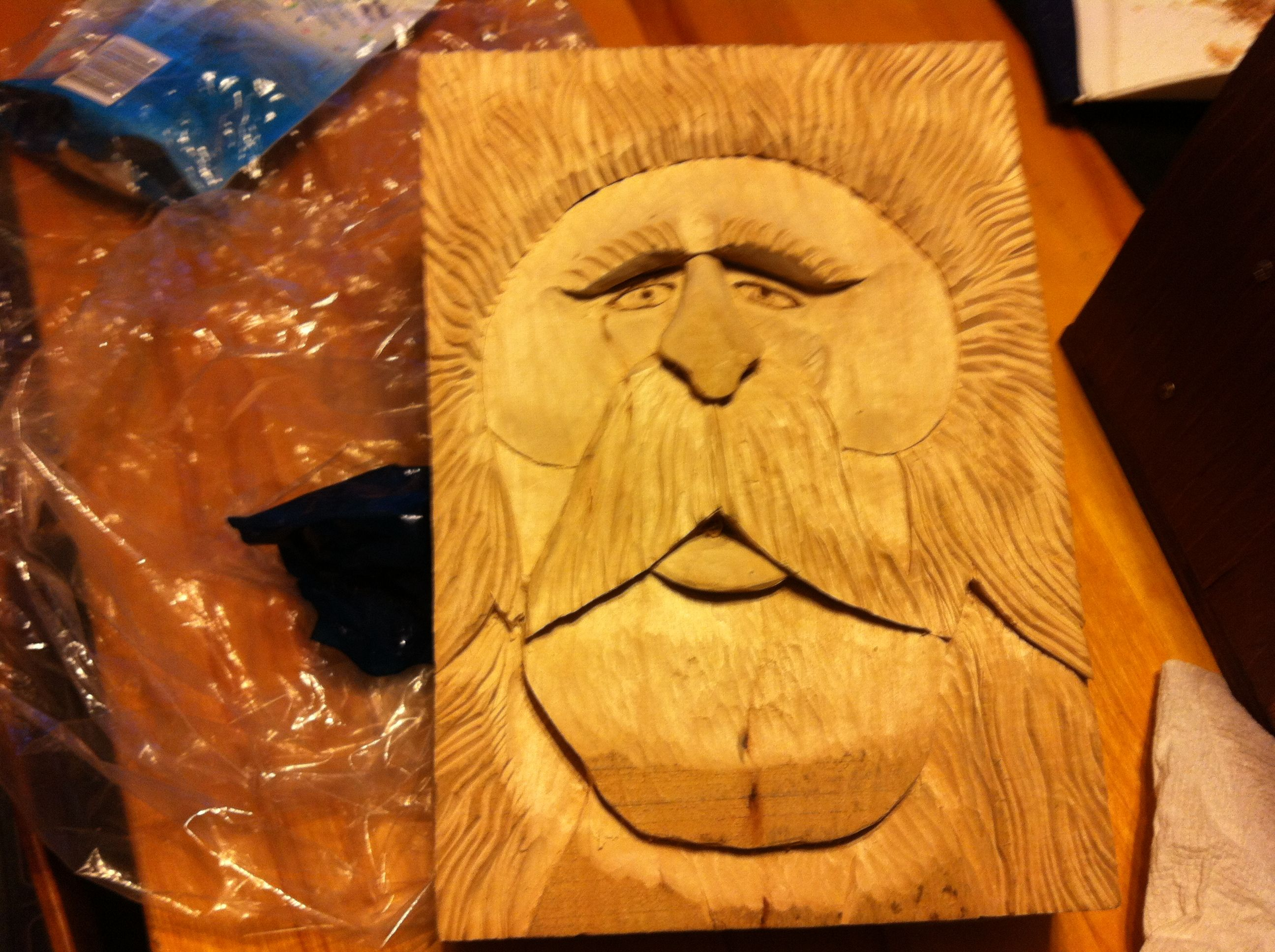 MY WOOD CARVING