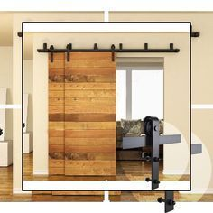 Photo of Decorative Interior Doors | Prehung Frosted Glass Interior Door | Internal Woode…