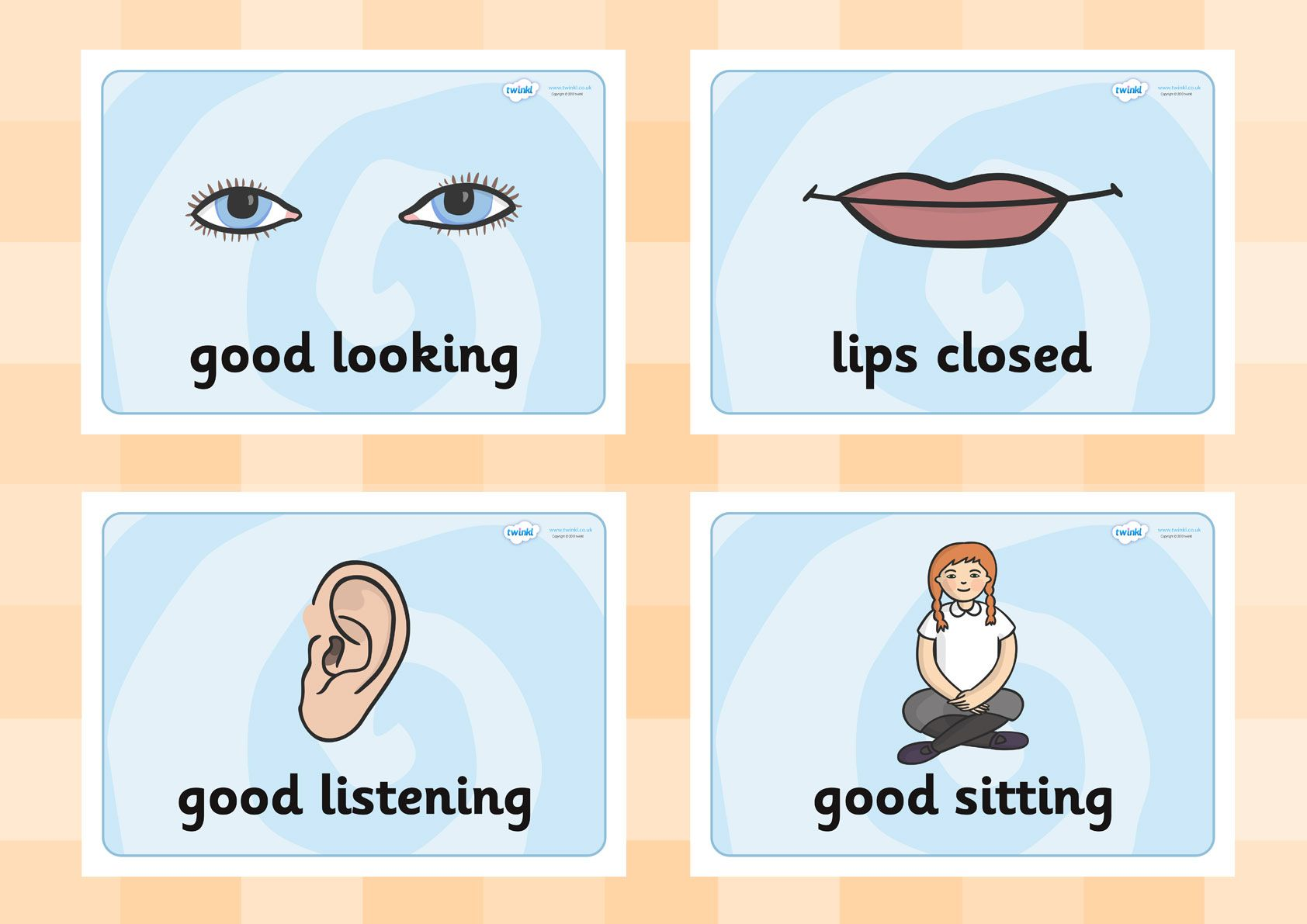 Twinkl Resources Gt Gt Good Listening Posters Gt Gt Printable