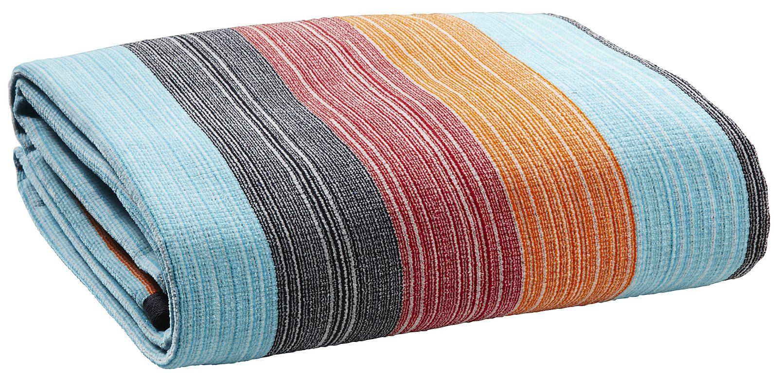 Kassatex Spiaggia Ombre Anti-Sand Beach Towel-Multicolor - casa.com
