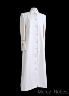 b5405070f9 Ladies clergy robe by Mercy Robes.