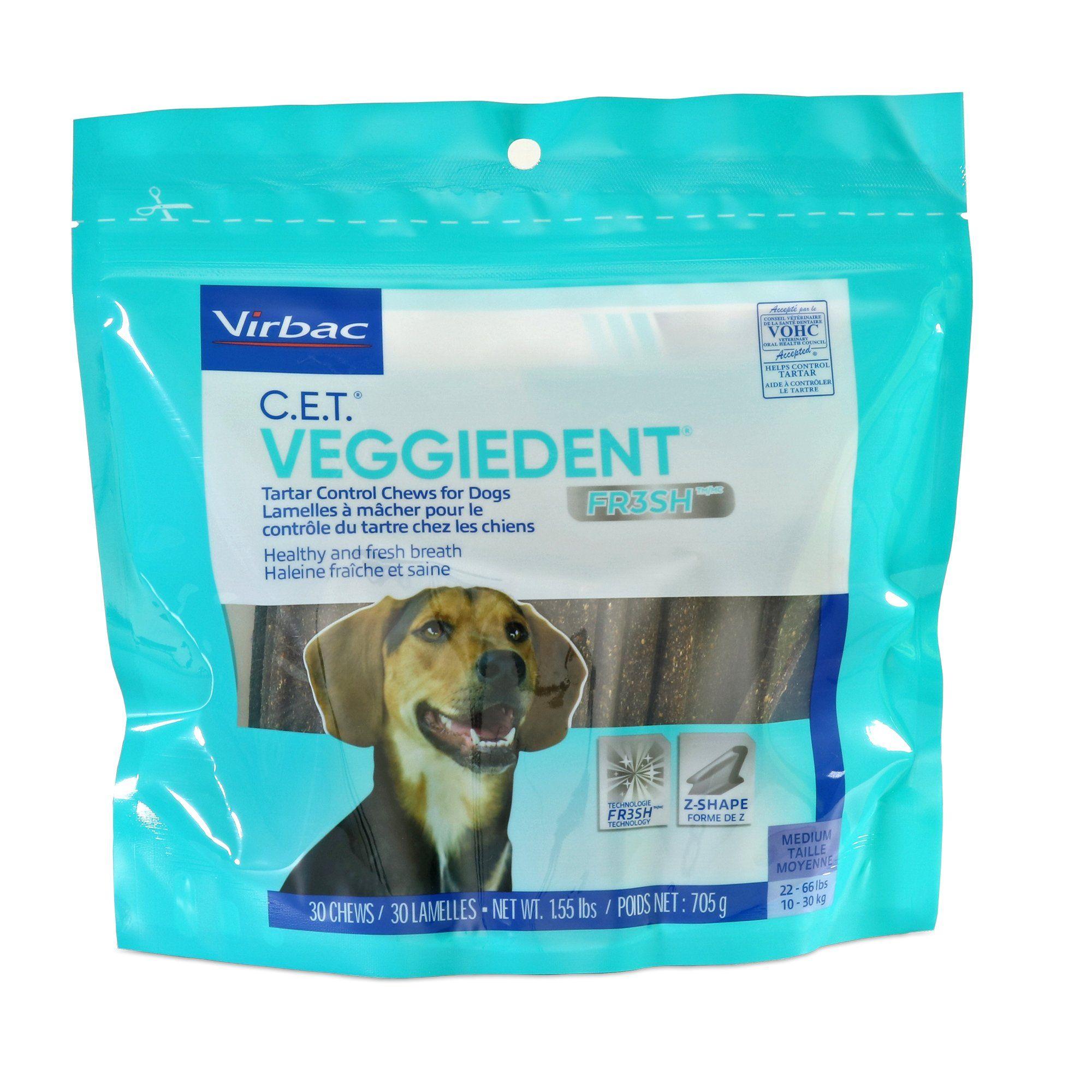 Virbac C E T Veggiedent Fr3sh Chew Dog Treats 1 55 Lbs Count