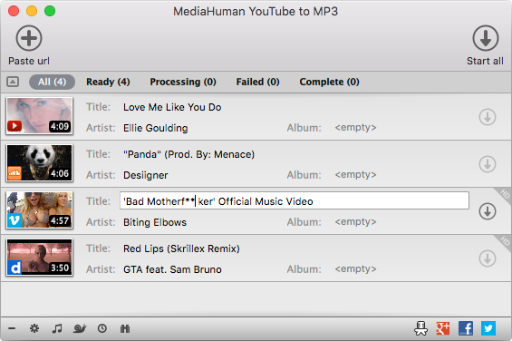Learn How To Use Mediahuman Youtube To Mp3 Converter Download Music From Youtube Music Download Free Mp3 Music Download