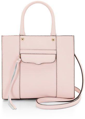 Rebecca Minkoff MAB Mini Tote Bag, Baby Pink