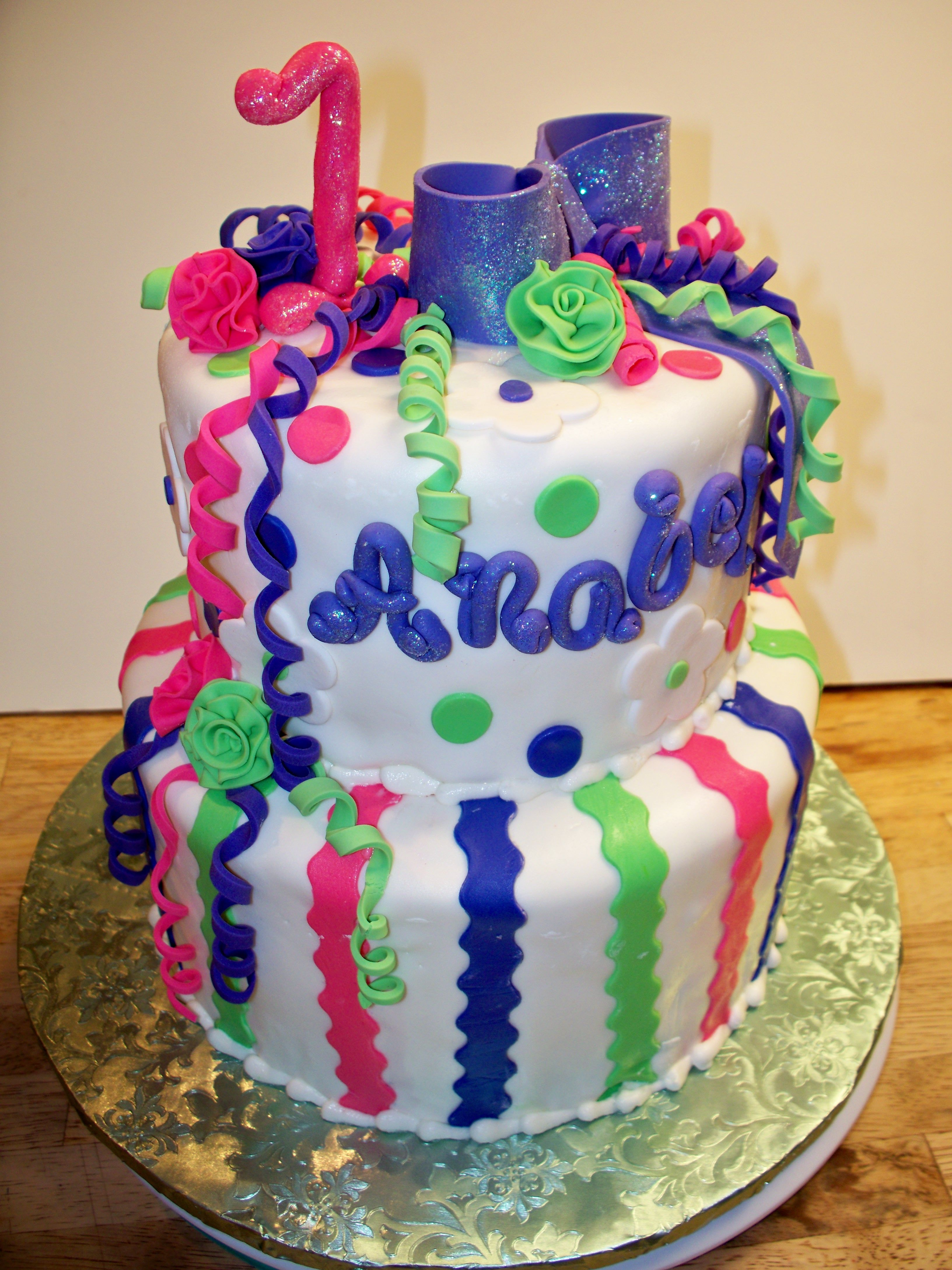 I loved making this cake so cute decorated it myself by