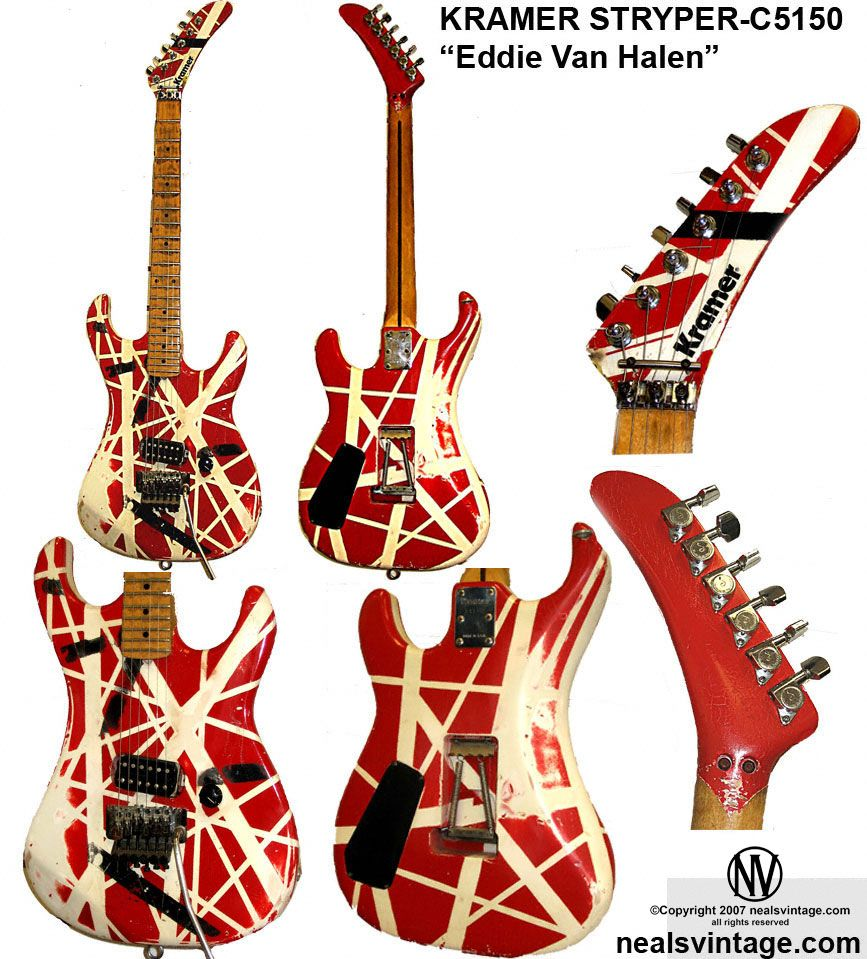 Pin By Ed Ferguson On Guitars Eddie Van Halen Van Halen Rock Guitar