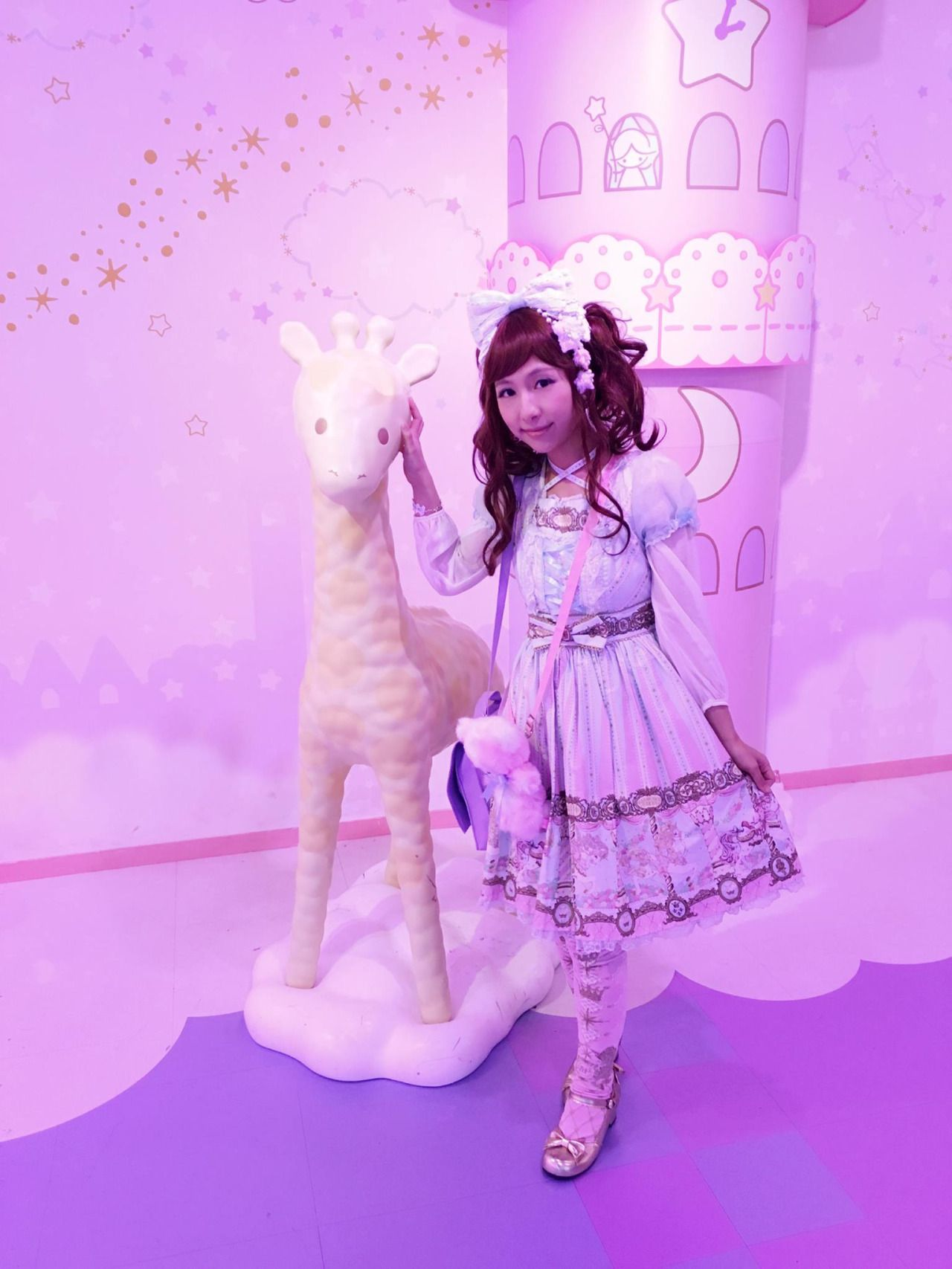 "cottoncandy-latte: "" I wore Day Dream Carnival to Puroland during my Japan trip. It was so magical and everything was so cute! ♥(✿ฺ´∀`✿ฺ)ノ """