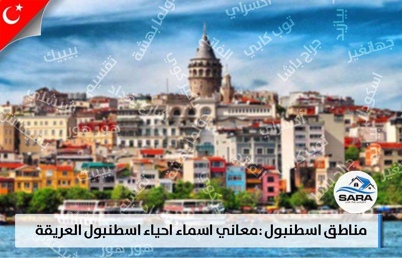 مناطق اسطنبول معاني اسماء احياء اسطنبول العريقة سارا العقارية 2021 Screenshots