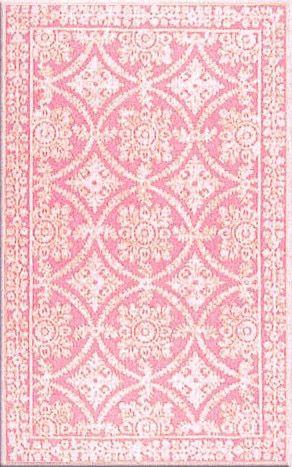 Romantic Pink Lace Wool Rug By Layla Grayce Teppich Grau Teppich Rosa Teppich