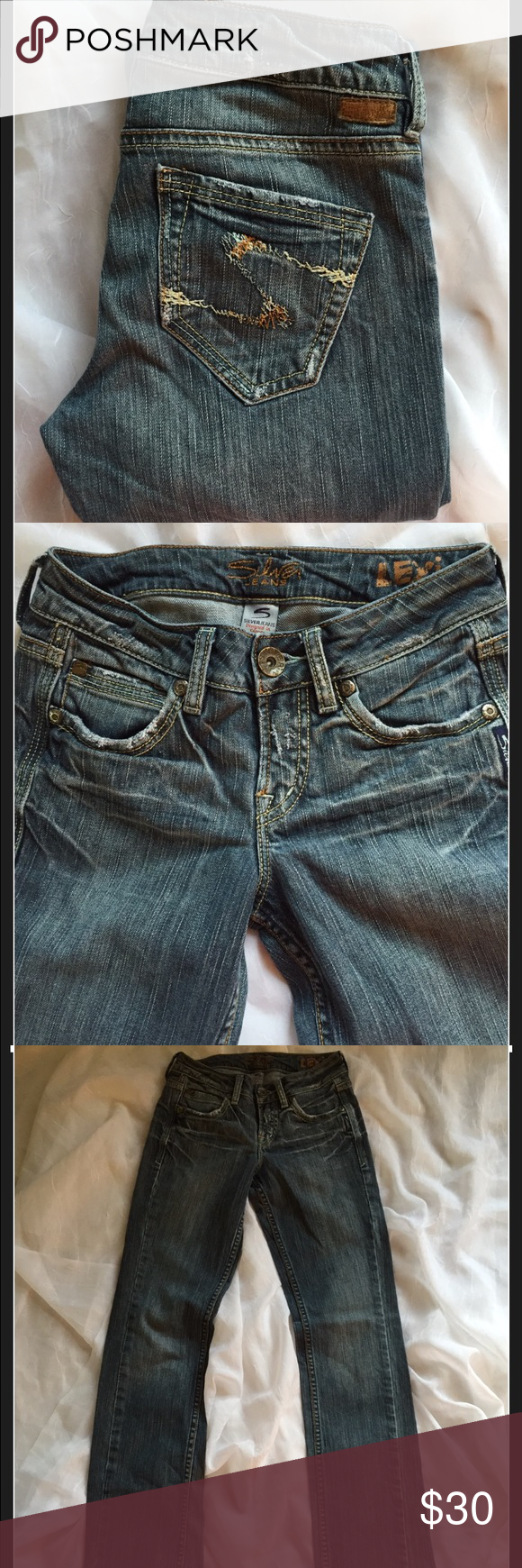 Silver Jeans Lexi cut, size 24/33 | Silver jeans, Jean jean and Legs