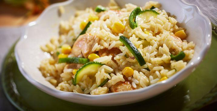 M gica forma de convertir un sencillo arroz en un - Flores para cocinar ...