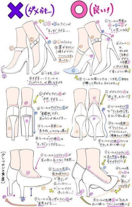 Heels drawing inspiration 35 Trendy Ideas #drawing #heels # nosedrawing
