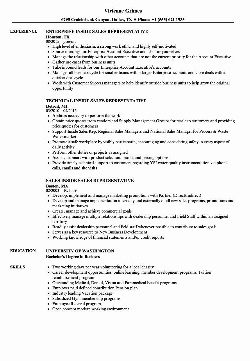 41+ Sales rep resume description Resume Examples