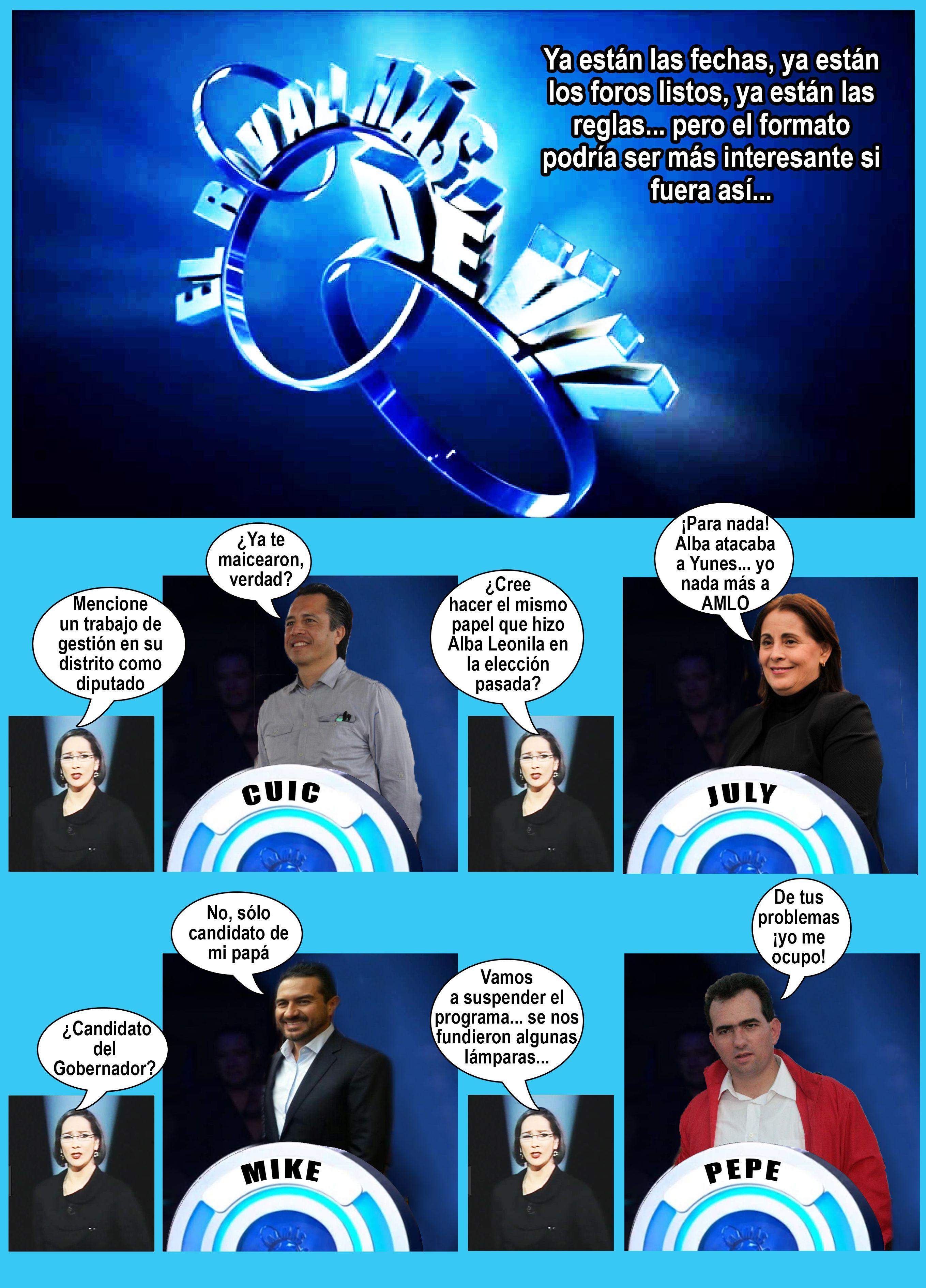El formato ideal para el debate de candidatos a Gobernador | Memes ...