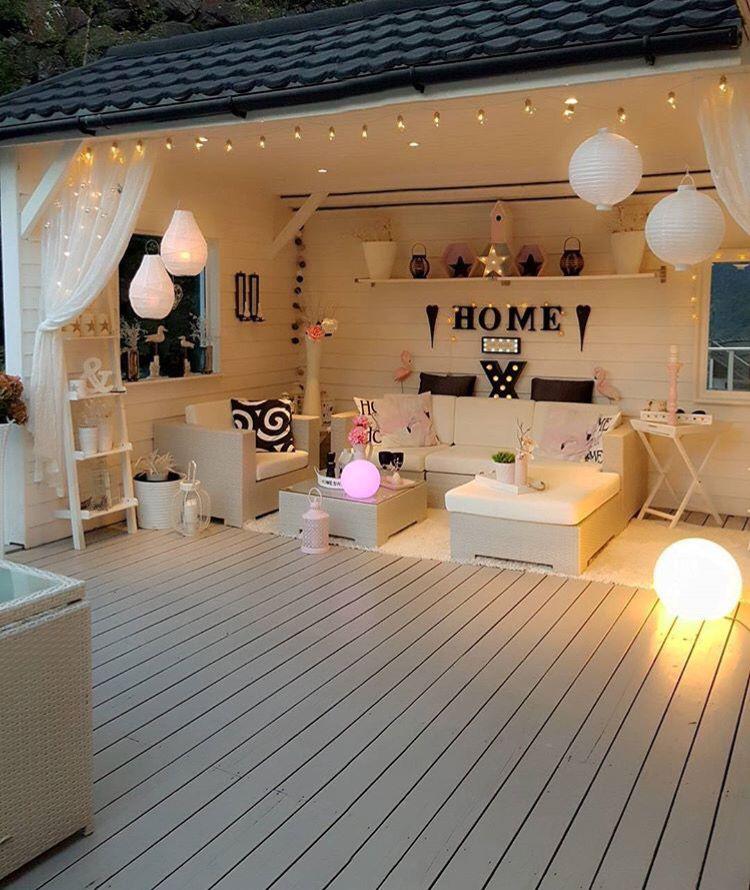 am nager son garage pour l 39 ouvrir et faire des soir es. Black Bedroom Furniture Sets. Home Design Ideas