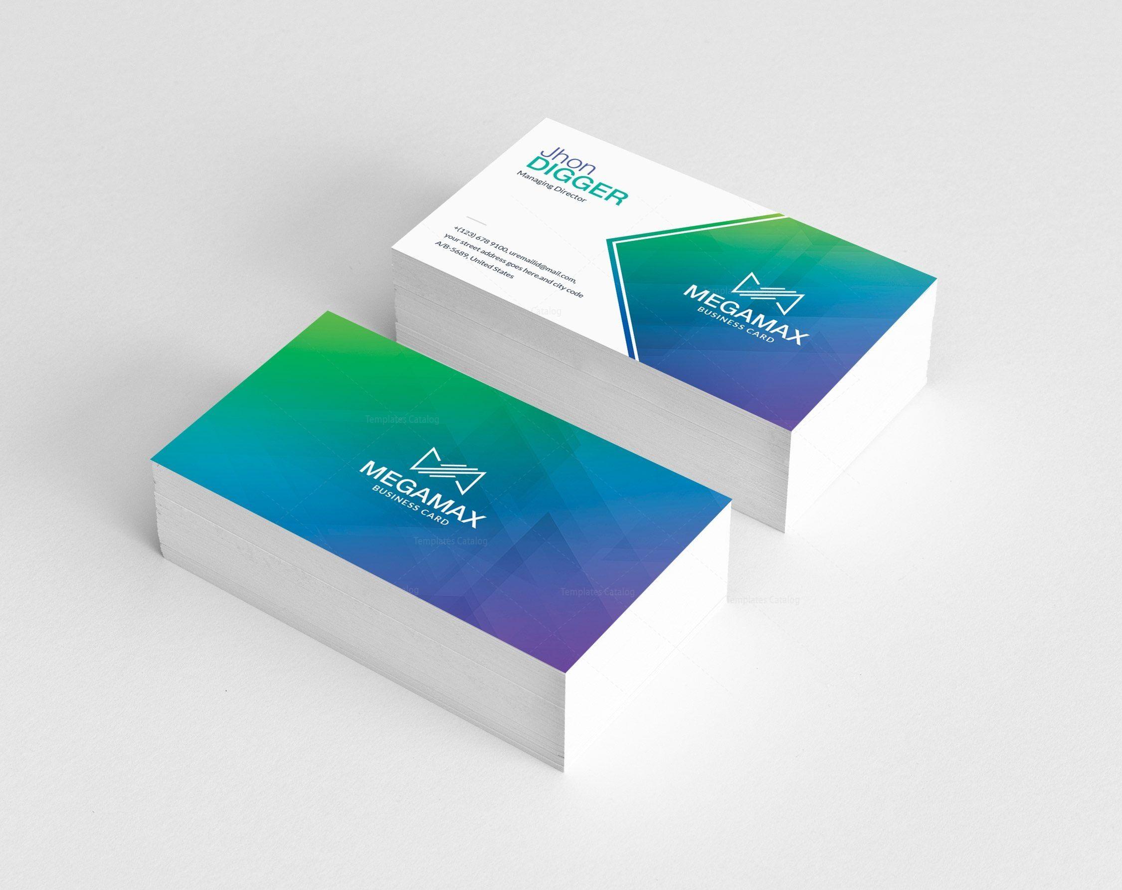 Modern Business Card Design Graphic Templates Modern Business Cards Modern Business Cards Design Business Card Design