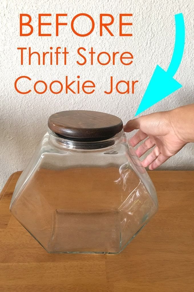 Thrift Store Cookie Jar Gets a Beautiful New Look SO gorgeous in our living room I have seen them in expensive home decor stores now I can make my own for decorations and...