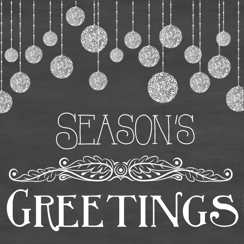 Seasons greetings chalkboard printable art by peacheyprintables seasons greetings chalkboard printable art by peacheyprintables kristyandbryce Images