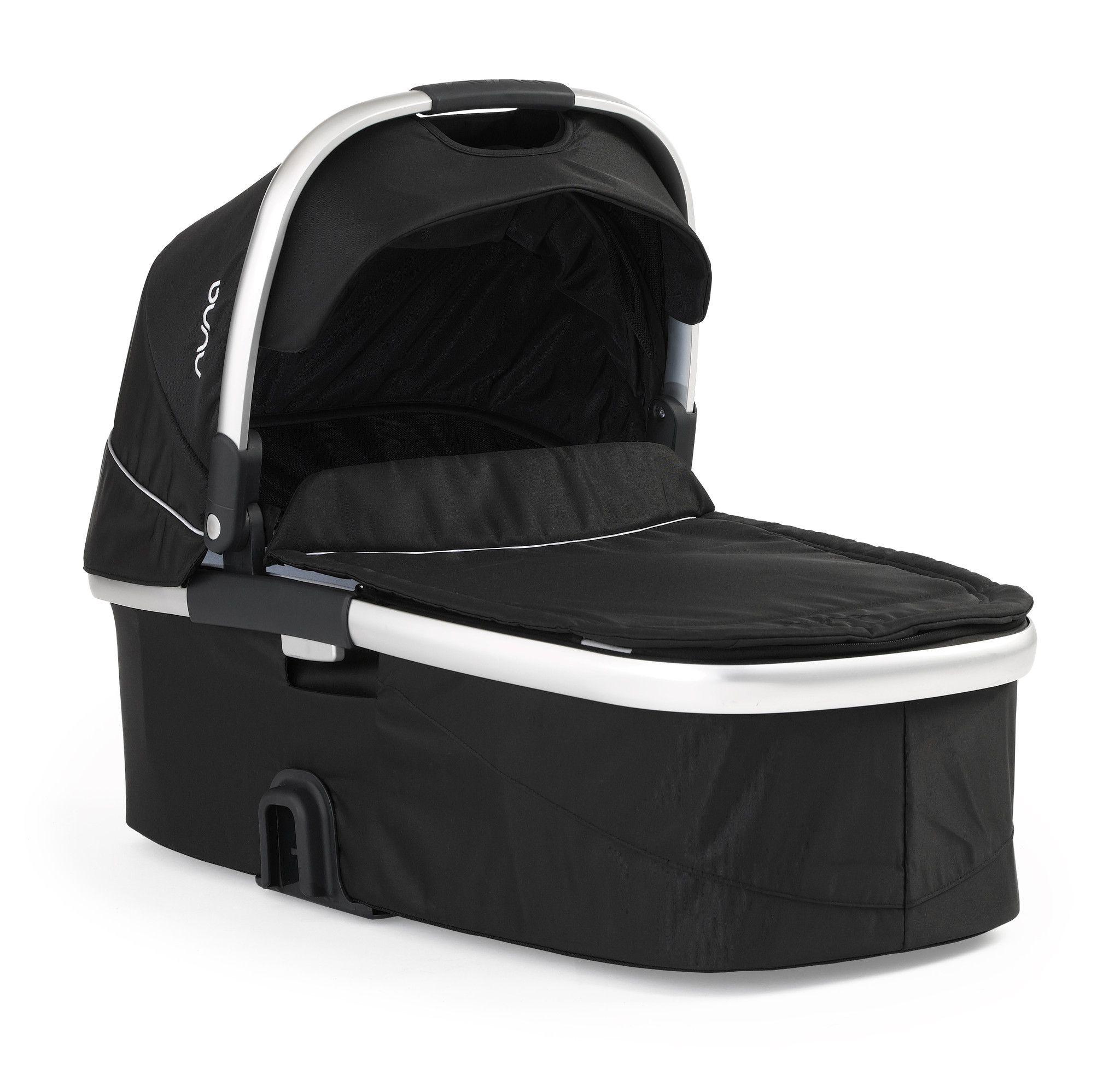 Nuna IVVI Carry Cot Stroller Caviar Stroller