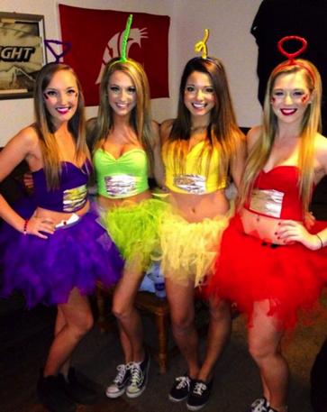 Great group costume ideas!  sc 1 st  Pinterest & 10 Creative Group Halloween Costume Ideas | [Halloween] Parties ...