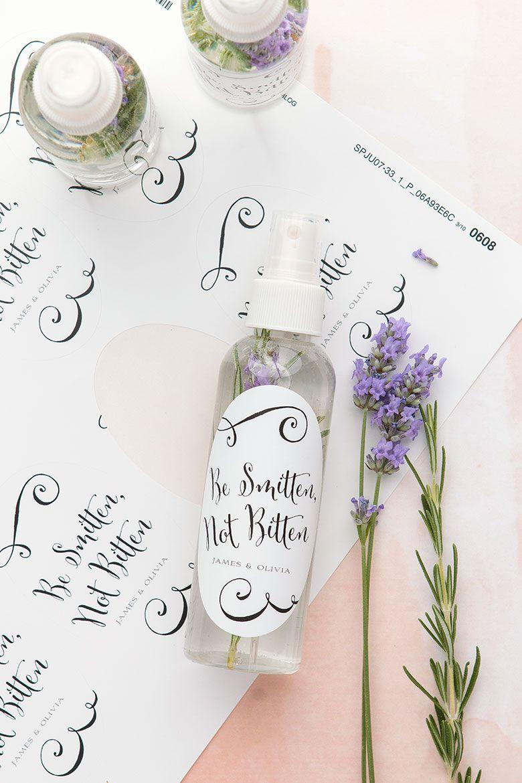 DIY bug spray wedding favors | Summer weddings, Favors and Weddings