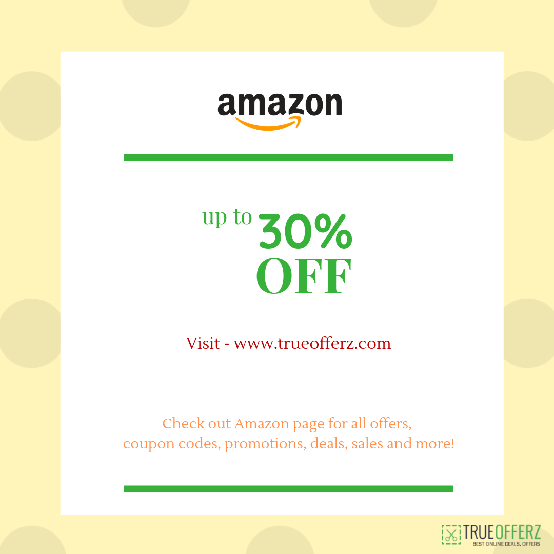 Check Out Amazon Page For All Offers Coupon Codes Promotions Deals Sales And More Visit Trueofferz Com For Coupons And Best De Coupon Codes Coding Coupons