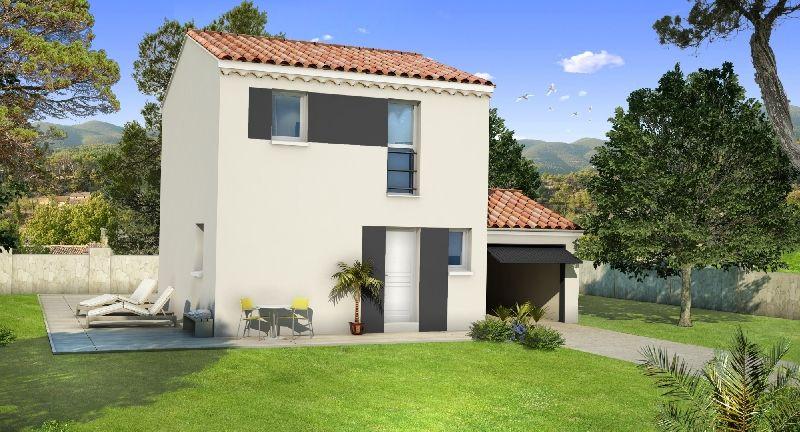 Constructeur maison, villa Lea, construction villas tendances - calcul surface habitable maison