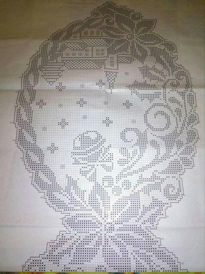Schemi gratis da realizzare a filet punto croce maglia for Pizzi uncinetto schemi gratis