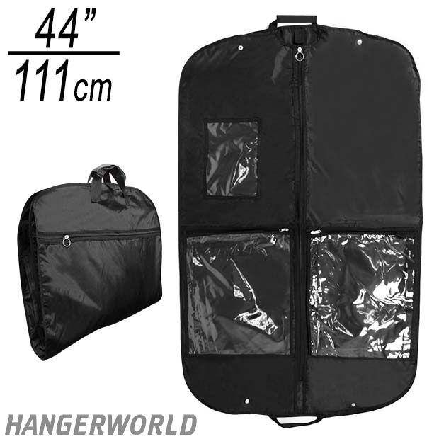 18890b0d77b8 Black Nylon Showerproof Suit Carrier - 44 Inches | Retex qanta ...