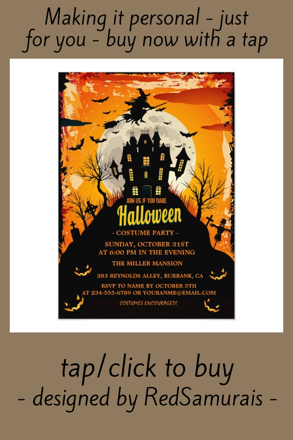 Halloween Invitations Zazzle Com In 2020 Halloween Invitations Halloween Banner Invitations