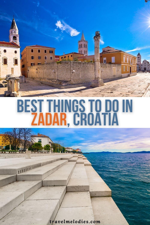 Uber Cool Things To Do In Zadar Croatia Croatia Europe Trip Itinerary Balkans Travel