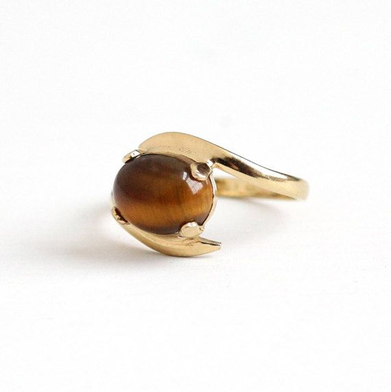 Caramel Cat S Eye Ring Diamontrigue Jewelry: Your Place To Buy And Sell All Things Handmade